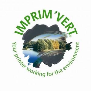Logo Imprim'Vert- english