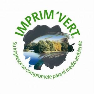Logo Imprim'Vert- espagnol